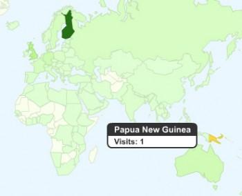 Reader in Papua New Guinea